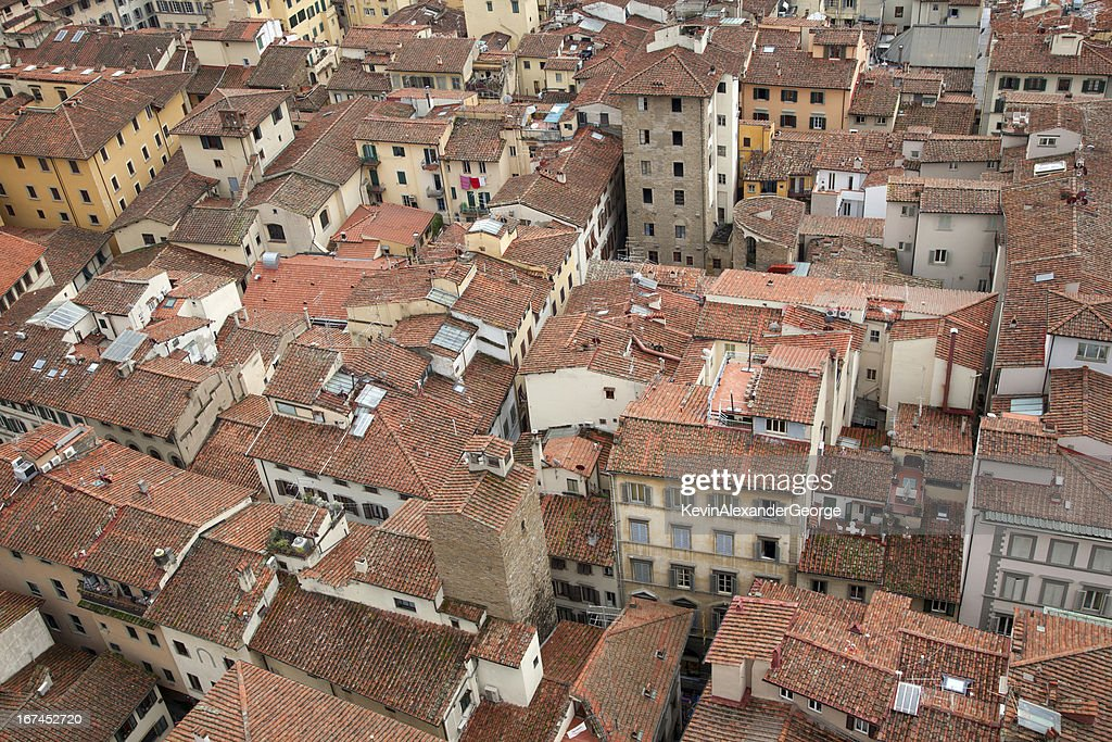 Roofs of Florence : Stock Photo