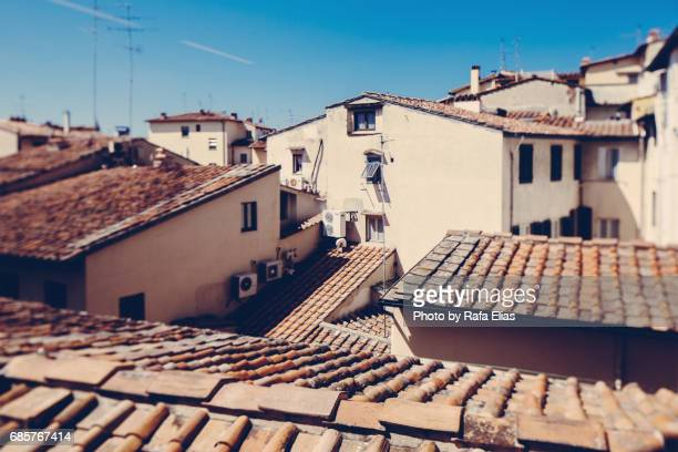 Roofs of Florence (Italy)