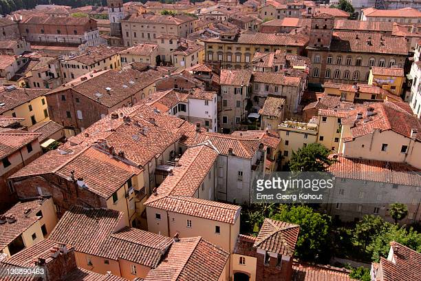 Roofs of Lucca, Tuscany, Italy