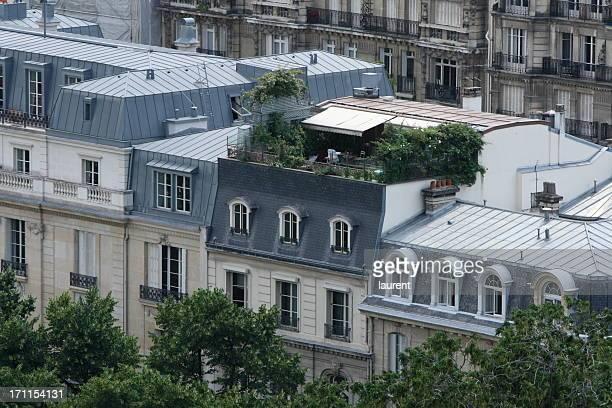 Dächer von Paris, Frankreich