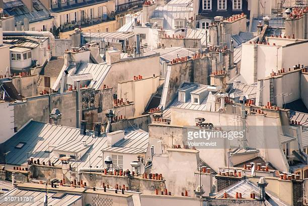 Roofs of Paris (Le Marais) from Notre Dame