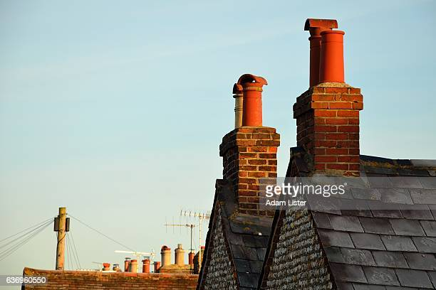 Rooftop chimneys