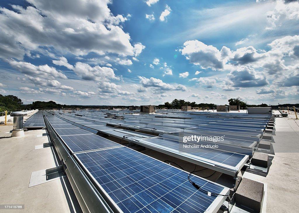 Rooftop Solar Panels 1