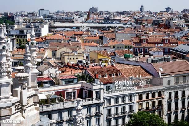 Rooftops at Terrazamirador del Palacio de Cibeles