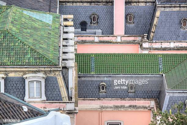 Rooftops in Lisbon