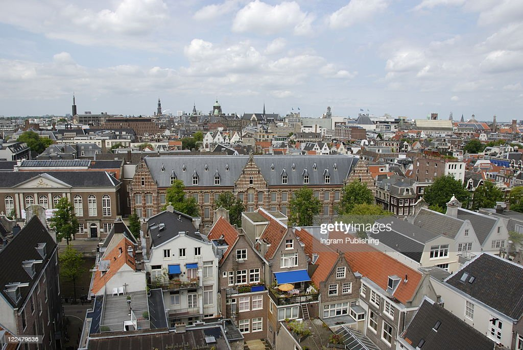 Rooftops of Amsterdam, Holland : Stock Photo
