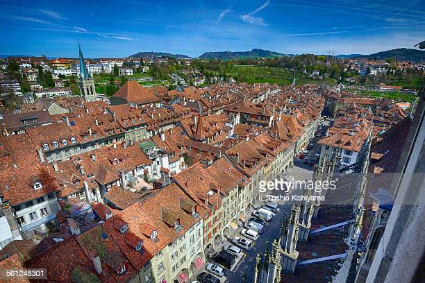 Rooftops of Bern, Switzerland