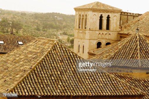 Rooftops of buildings, Toledo, Spain : Foto de stock