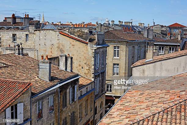 Rooftops of central Bordeaux