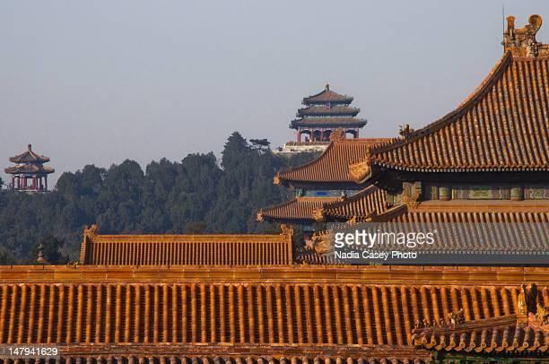Rooftops of Forbidden city