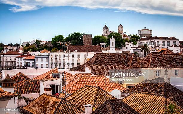 Rooftops of Tavira, Algarve, Portugal