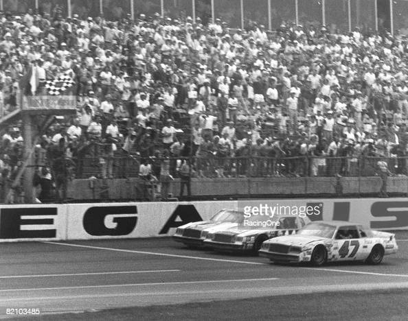 Rookie Ron Bouchard became the 13th different winner in 1981 of the Talladega 500 an alltime NASCAR record for numbers of winners in one race on...