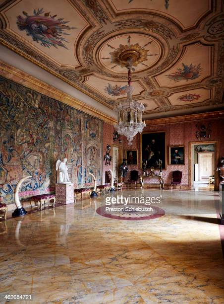 A room in Palacio de Liria is photographed for Conde Nast Traveler Spain on March 2 2013 in Madrid Spain PUBLISHED IMAGE