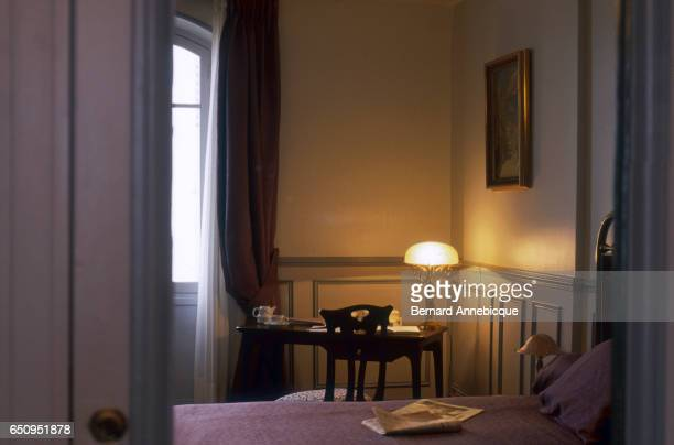 A room in the Grand Hotel in Cabourg France was once occupied by novelist Marcel Proust