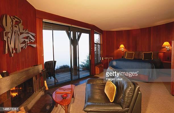 Room interior, Post Ranch Inn.