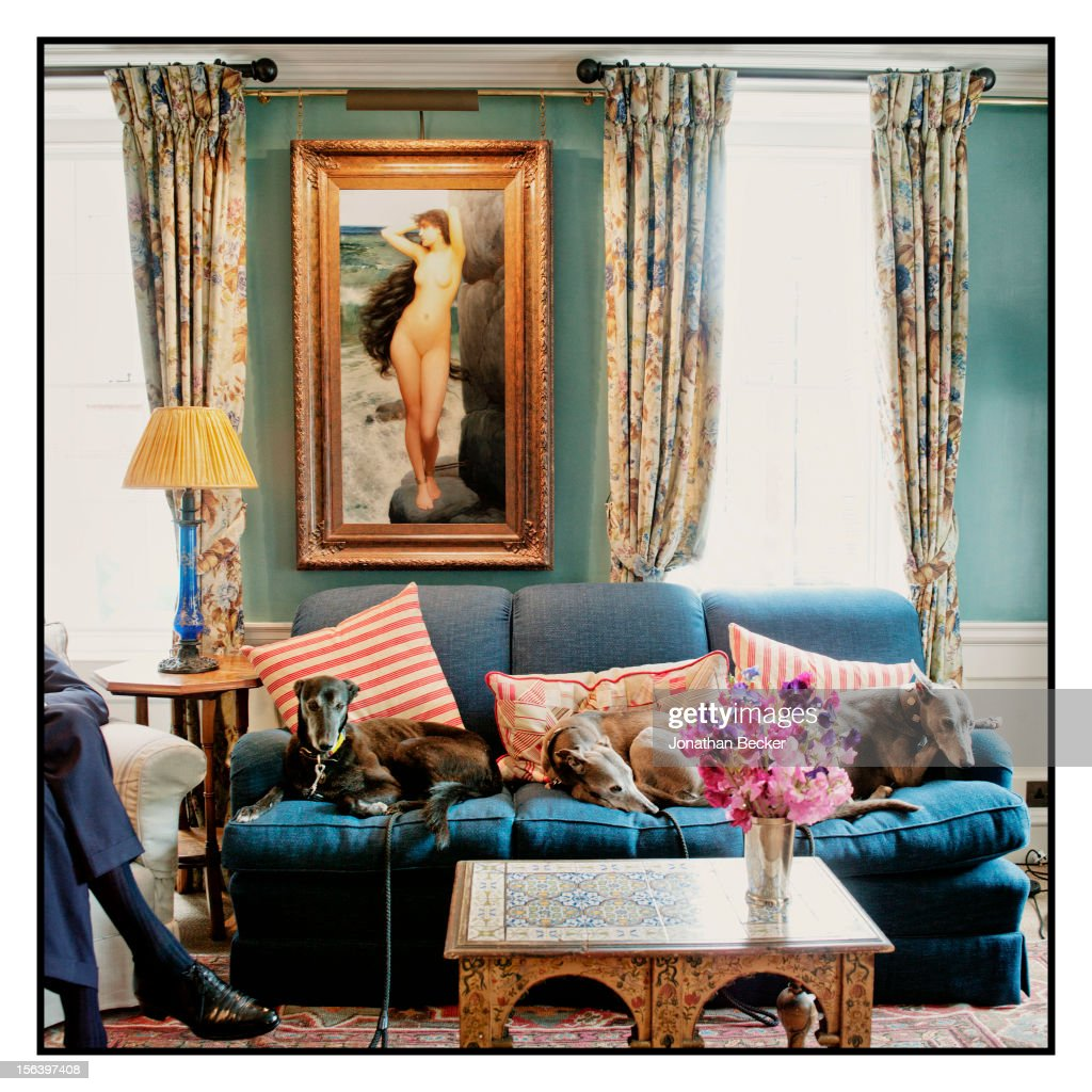 A room is photographed at 5 Hertford Street, which is the home of nightclub Loulou's for Vanity Fair Magazine on June 11, 2012 in London, England.