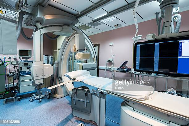 Room of Digitalized Coronary Angiography