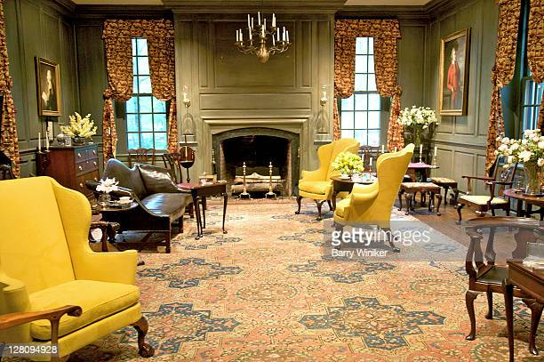 Room with American furniture, former country house of Henry Francis du Pont, Winterthur, Delaware