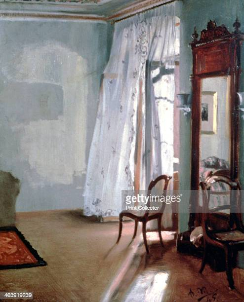 'Room with Balcony' 1845 Located in the collection at National Gallery Berlin