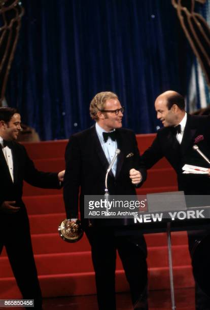 Roone Arledge and Joe Garagiola at The 22nd Annual EMMY Awards at the Century Plaza Hotel Los Angeles CA June 7 1970