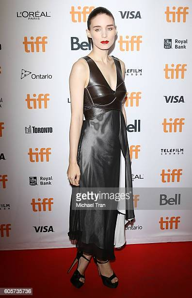 Rooney Mara arrives at the 2016 Toronto International Film Festival 'Una' premiere held at Princess of Wales Theatre on September 14 2016 in Toronto...