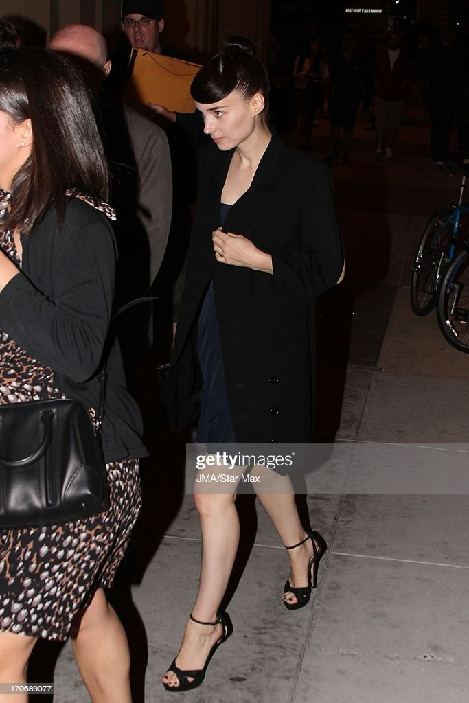 Rooney Mara as seen on June 15, 2013 in Los Angeles, California.