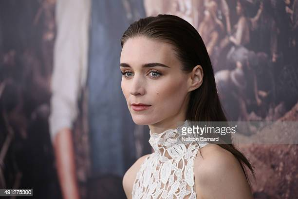 Rooney Mara attends 'Pan' premiere at Ziegfeld Theater on October 4 2015 in New York City