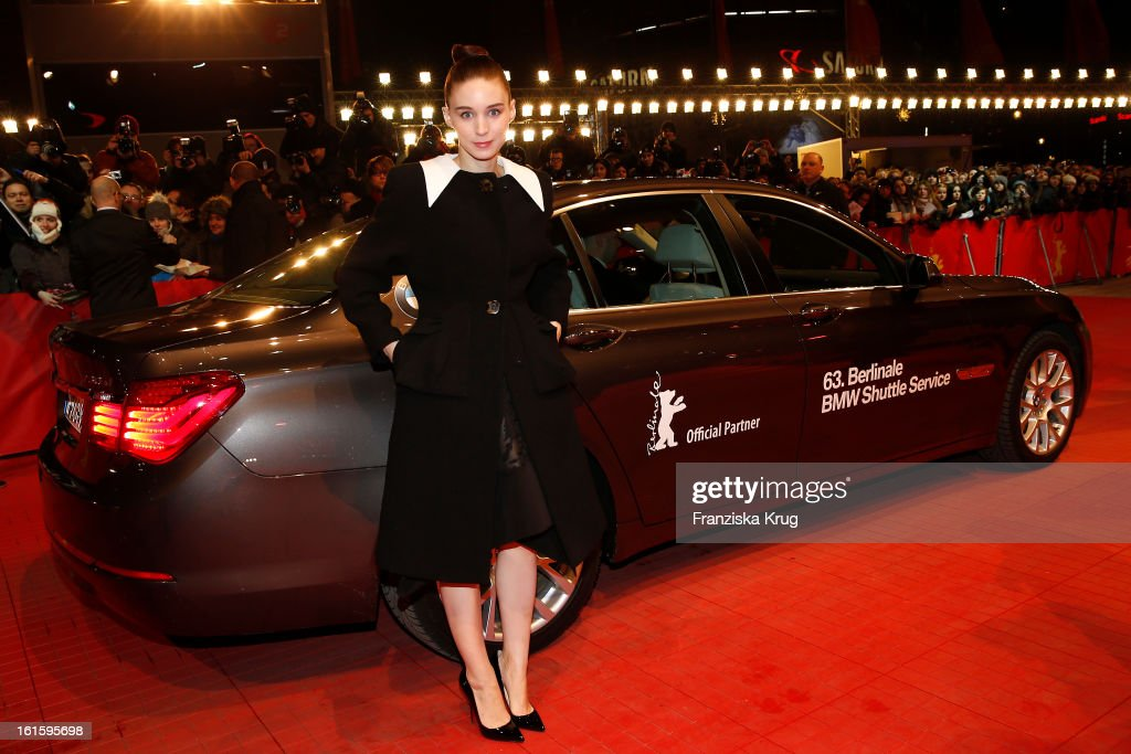 Rooney Mara attends 'Side Effects' Premiere - BMW at the 63rd Berlinale International Film Festival at Berlinale Palast on February 12, 2013 in Berlin, Germany.