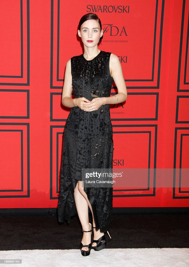 <a gi-track='captionPersonalityLinkClicked' href=/galleries/search?phrase=Rooney+Mara&family=editorial&specificpeople=5669181 ng-click='$event.stopPropagation()'>Rooney Mara</a> attends the 2013 CFDA Fashion Awardson June 3, 2013 in New York, United States.