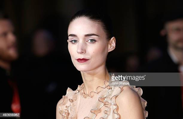 Rooney Mara attends the 'Carol' America Express Gala during the BFI London Film Festival at the Odeon Leicester Square on October 14 2015 in London...