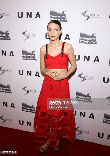 Rooney Mara attends the New York VIP Screening of 'UNA' at Landmark Sunshine Cinema on October 4 2017 in New York City