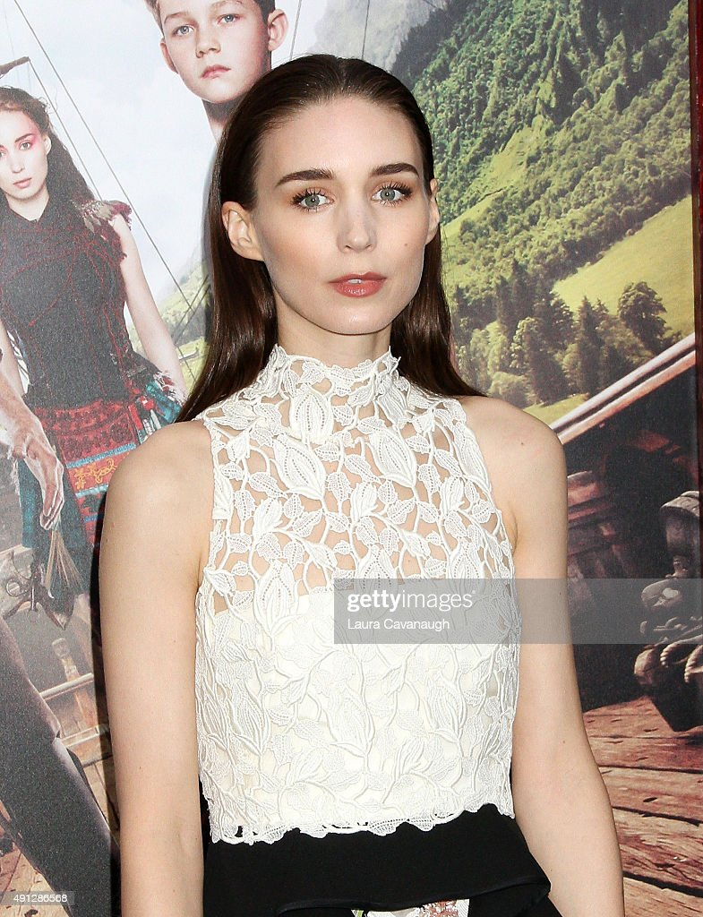 Rooney Mara attends the 'Pan' New York Premiere - Outside Arrivals at Ziegfeld Theater on October 4, 2015 in New York City.