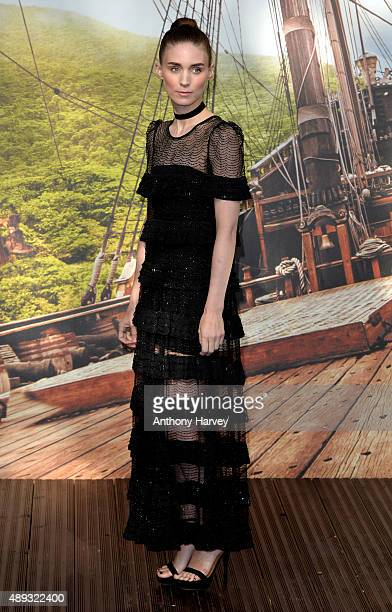 Rooney Mara attends the World Premiere of 'Pan' at Odeon Leicester Square on September 20 2015 in London England