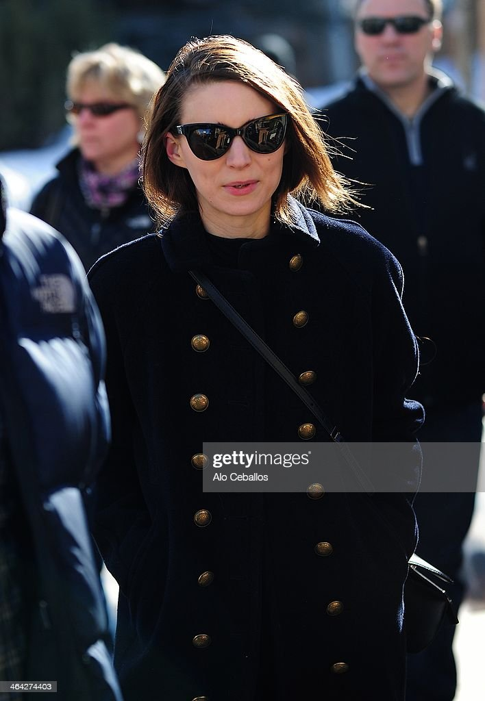 <a gi-track='captionPersonalityLinkClicked' href=/galleries/search?phrase=Rooney+Mara&family=editorial&specificpeople=5669181 ng-click='$event.stopPropagation()'>Rooney Mara</a> is seen at Sundance Festival on January 21, 2014 in Park City, Utah.