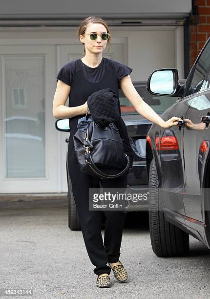 Rooney Mara is seen on November 20 2014 in Los Angeles California