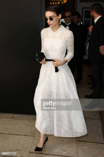Rooney Mara is spotted during the 70th annual Cannes Film Festival at on May 28 2017 in Cannes France