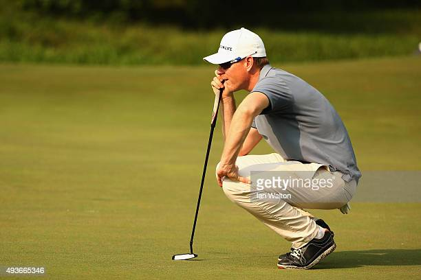 Roope Kakko of Finland during the first round of the UBS Hong Kong Open at The Hong Kong Golf Club on October 22 2015 in Hong Kong Hong Kong