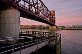 Bridge - Built Structure, Cantilever Bridge, Roosevelt Island, East River