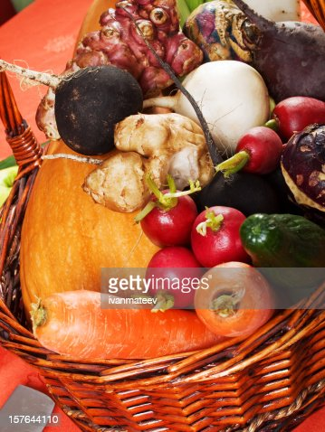 Root vegetables : Stock Photo