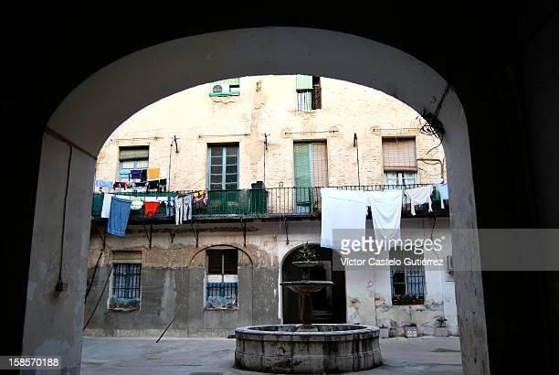 Ropa tendida en Aranjuez