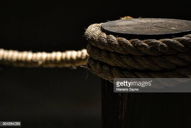 Rope anchoring detail