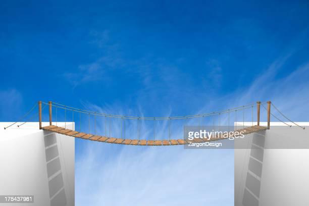 Pont en corde