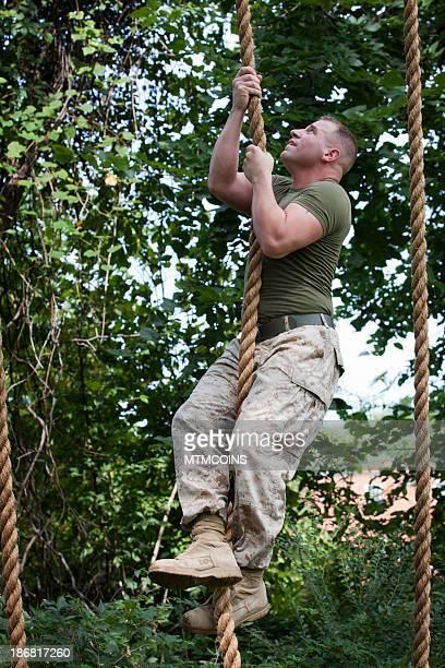 Rope Climbing Marine