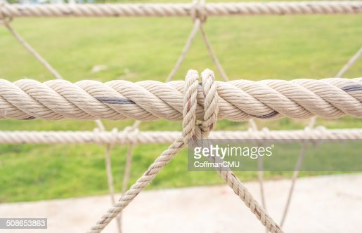 rope knob : Stock Photo