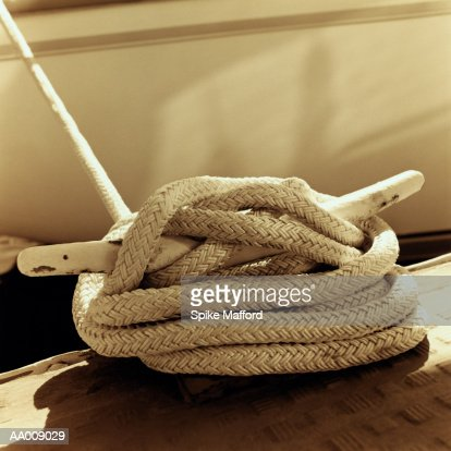 Rope Tied to Cleat