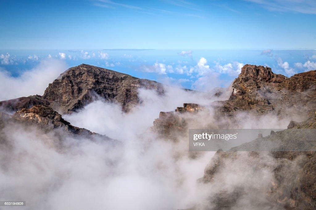 Roque de los Muchacos, La Palma, Spain : Stockfoto