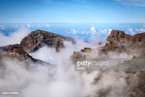 Roque de los Muchacos, La Palma, Spain : Photo