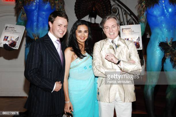 Roric Tobin Geoffrey Bradfield and Uzma SarfrazKhan attend Reception for Geoffrey Bradfield 'EX ARTE' Book Launch at Carlton Hobbs Mansion on June 23...