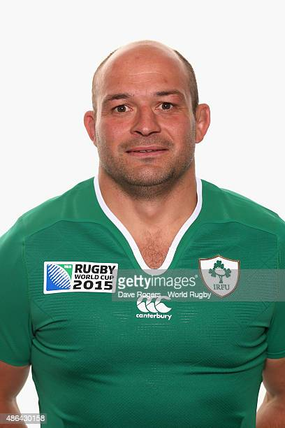 Rory Best of Ireland poses for a portrait during the Ireland Rugby World Cup 2015 squad photocall on June 28 2015 in Maynooth Ireland