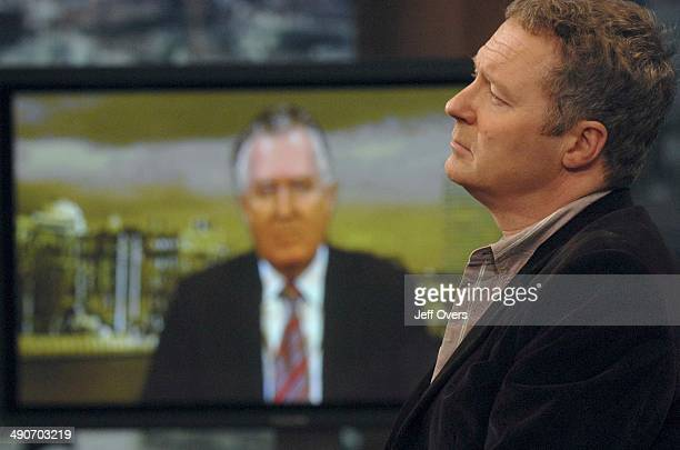 Rory Bremner interviewed by Andrew Marr who had a discussion down the line with Peter Hain on BBC current affairs programme Sunday AM 25th Feb 2007